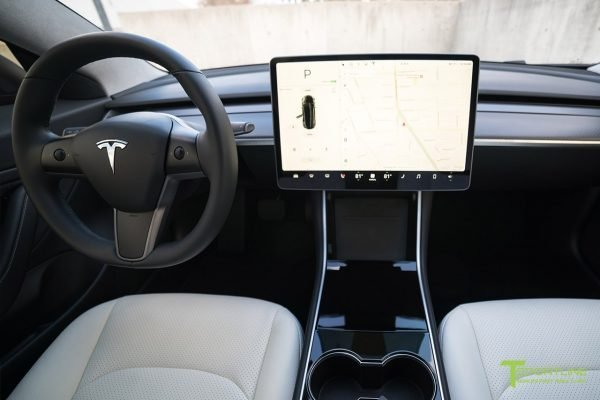 tesla  600x400 - Tesla Model 3 INTERIOR Protection Patterns: All Trim and Screen: Downloadable File
